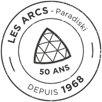 Logo Les Arcs 50 years